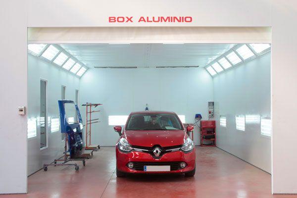 Caja de reparación de aluminio